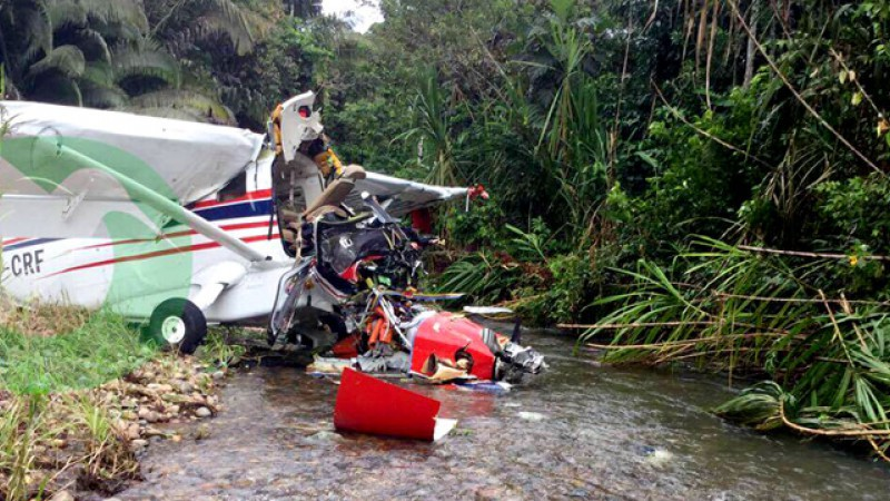 3 Injured as Mission Plane Crashes in Ecuador's Jungle